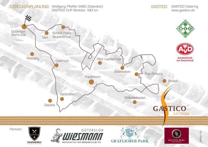 Die Strecke - Gastico Cup 2012