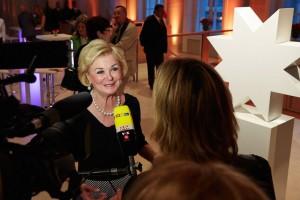 1-Liz Mohn im Fernseh-Interview